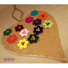 Alfiler modelo flowers