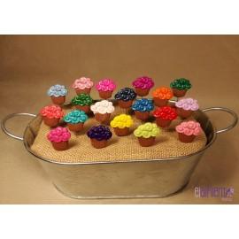 Alfiler modelo Cupcake